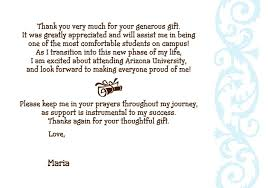 How To Write A Thank You Letter For Graduation Gift ...