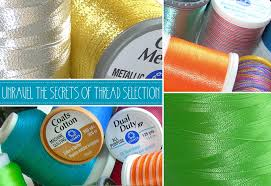 Coats And Clark Thread Chart Top Thread Tips From The Experts At Coats Clark Sew4home