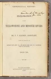 title page geological report of the exploration of the title page geological report of the exploration of the yellowstone and missouri rivers