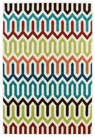 delectably yours decor summer tile multi color indoor outdoor rug 5x8 or 8x10