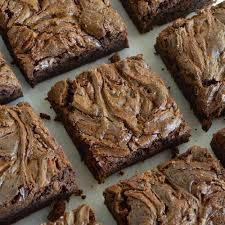 Nutella Topped Brownies Chocolate Chunk Nutella Brownies Recipe Wonkywonderful