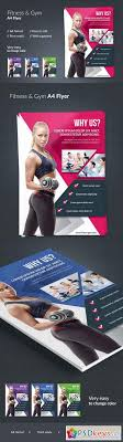 Fitness & Gym Flyer 608316 » Free Download Photoshop Vector Stock ...