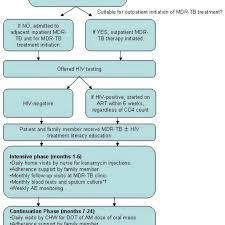 Chw Org My Chart Flow Chart Of Patient Care In The New Mdr Tb Program