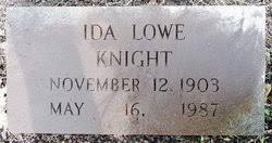 Ida Elizabeth Lowe Knight (1903-1987) - Find A Grave Memorial