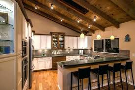 kitchen lighting for vaulted ceilings. Light For Vaulted Ceilings Recessed Sloped Ceiling Medium Size Of Designs Bright Kitchen . Lighting