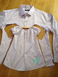 How To Make Shirt Make Daddys Shirt Into Baby Clothes Workshop