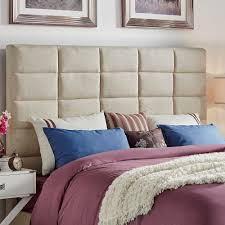 Tower High Profile Upholstered King-sized Headboard iNSPIRE Q Modern - Free  Shipping Today - Overstock.com - 17570538