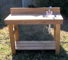 stainless steel outdoor sink. Outdoor Stainless Steel Sink Potting Bench With Benches R