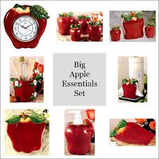 red apple kitchen decor kitchen and decor