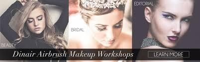 airbrush makeup cles dinair work with hands on and