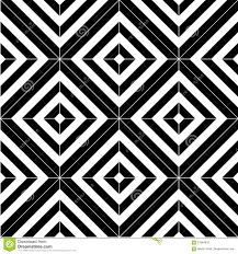Black And White Pattern Tile Simple Black And White Seamless Pattern Tiles Stock Vector Illustration
