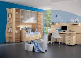 kids bedroom furniture with desk. creative kids bedroom ideas with funny bedroomu0027s theme and design modern grey concrete flooring blue wooden bunk furniture desk l