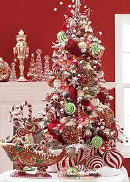 Christmas treat themed Christmas tree in red. Make your Christmas tree  explode with treats and ...