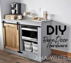 diy barn door hardware from washers