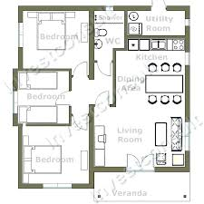 two bedroom bungalow floor plans well designed two bedroom house plans with basement and garage gorgeous modern style two a floor plan 3 bedroom bungalow