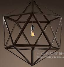 rustic pendant lighting fixtures. aliexpresscom buy new 2015 nordico rustic pendant lights american vintage loft cage edison hanging lamp iron lampshade decor polyhedron fixtures from lighting