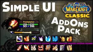 <b>Classic</b> WoW Simple & <b>Clean</b> Ui - Addon Pack Easy to Setup ...