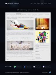 How To Create Design In Photoshop Create A Modern And Sleek Blog Design In Photoshop
