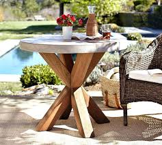 west elm round table stylish outdoor bistro trendy metal emmerson reviews west elm round table