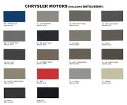 Chrysler Interior Auto Paint By Sem Product