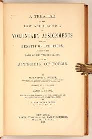 A Treatise on the Law and Practice of Voluntary Assignments for the.. |  Alexander Burrill, James Avery Webb, J. Bishop