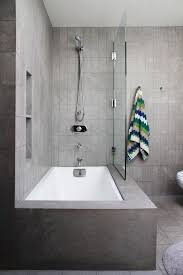shower combo pinterest tub bath and spacious area using bathroom corner  ideas with white curtain