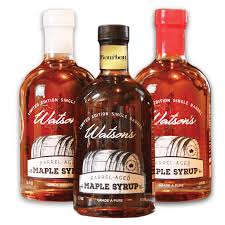 watson s barrel aged maple syrup