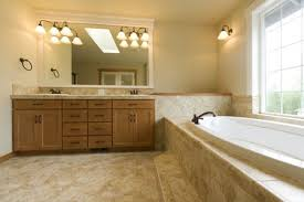 How to install a vanity Cabinets Bathroom Vanity And Tub The Spruce How To Replace And Install Bathroom Vanity And Sink