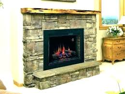 wide electric fireplace insert aver inch outdo 18