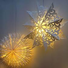 paper lighting. paper star lamp shade lighting i