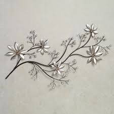 >best 20 of floral metal wall art featured photo of floral metal wall art