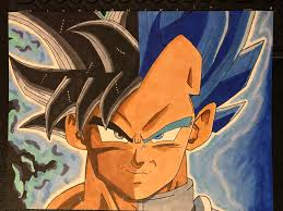 Goku Limit Breaker Light Poster Limit Breaker Vegeta Ultra Instinct Goku Drawing Imgur