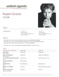 Actor Resume Delectable Acting Resume Template For Microsoft Word RodrigoEsch