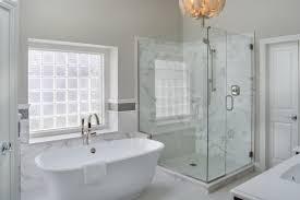... Shower Bathtubs Idea, Master Bath Tubs Drop In Bathtub Excellent Modern  Grey And White Bathroom With ...