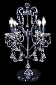 wonderful crystal chandelier lamp chandelier table lamps crystals regarding brilliant residence table chandelier lamps remodel