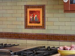 Kitchen Tile Uk Appealing Brown Wooden Cabinets With Contemporary Tile Backsplash