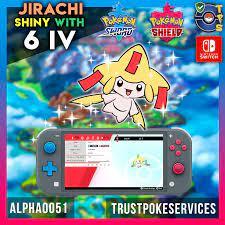 Pokemon Sword & Shield: Jirachi Shiny 6IV - Trust Poke Services
