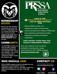 how many flyers should i put in a university public relations student society of america chapter to host new