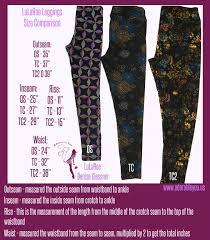 Lularoe Tc2 Size Chart Leggings Adorable You
