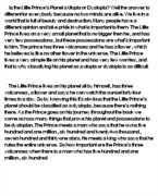 the little prince essay   scribdeliot cousin nancy essay · the little prince essay