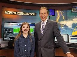 Student Presents Weather Report   Town-Crier Newspaper