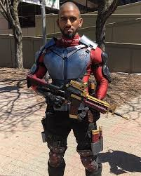 I am the light the way Version 1 of my Deadshot cosplay is