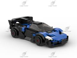 There are many lego technic bugatti veyrons being built by afols lately, probably because the real car is fast. Lego Moc Bugatti Bolide By Legotuner33 Rebrickable Build With Lego