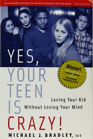 Yes your teen is crazy book