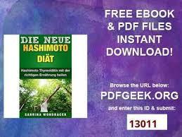Hashimoto diät pdf