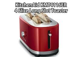 kitchenaid red toaster lg 4 slice empire artisan kmt423 s candy apple