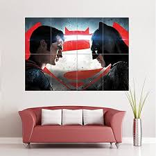 batman vs superman dawn of justice new glossy photographic paper giant wall art print poster  on giant wall poster art print with 326 best giant puzzle poster art wall decor images on pinterest