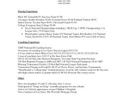 Baseball Coaching Resume Cover Letter Cover Letter Coaching Football College Examples Head Softball 54