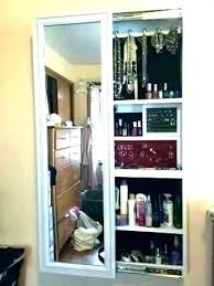 Wall Mounted Jewelry Cabinet Mount  Storage   R40