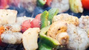 DASH Diet Seafood Kabobs